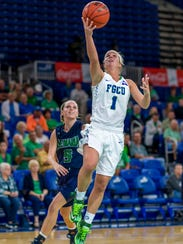 FGCU senior Jessica Cattani is heading to Western Kentucky to be an assistant coach.