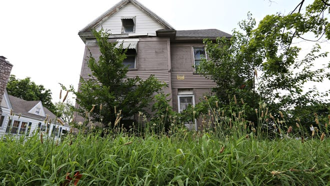 Neighbors have complained about the state of an unoccupied home at Washington and Pacific. Several neighborhoods named nuisance properties one of their top concerns during recent listening sessions with city leaders.