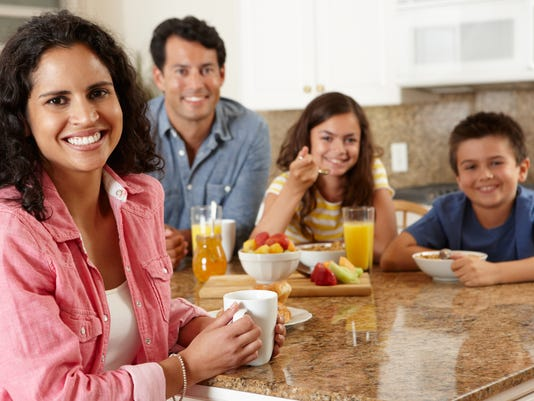 Get whole family involved in eating healthier