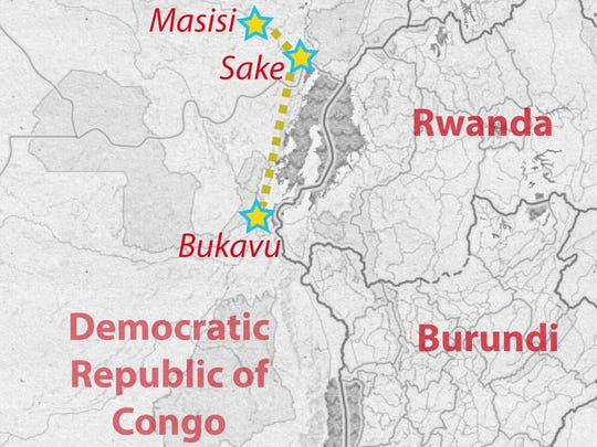 Christopher's escape began at his family's farm in Masisi where he was attacked. This week, we followed him to Bukavu, where we will meet him again in the next installment.