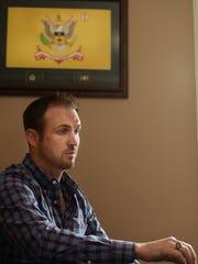 James Egan, a combat veteran, completed tours in Iraq