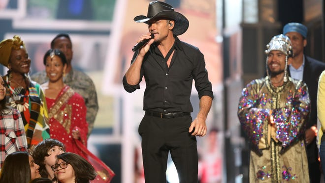Tim McGraw will perform May 4 at Brewsky's to help raise money for St. Fabian Catholic Church.