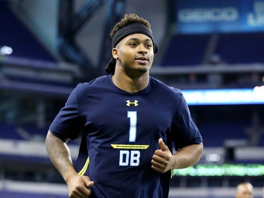 LSU safety Jamal Adams is seen at the 2017 NFL football