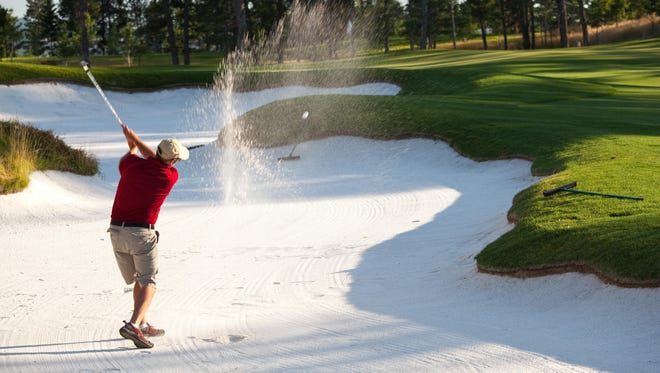 Learning to feel distances, especially from a bunker, is one of the hardest things to learn in the game of golf.