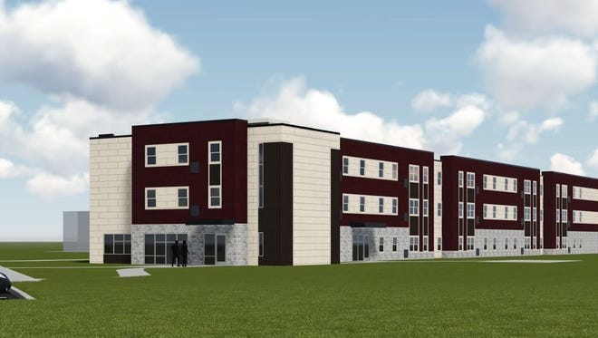 New student housing at University of Wisconsin-Fond du Lac will be open for students by fall 2017.