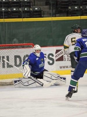 Wisconsin Rapids Riverkings goalie Atli Valdimarsson has been named the U.S. Premier Hockey League Elite goaltender of the week.