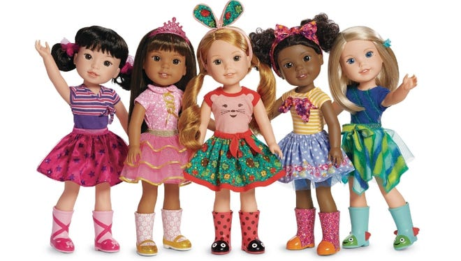American Girl debuts new WellieWishers line for girls ages 5 to 7.