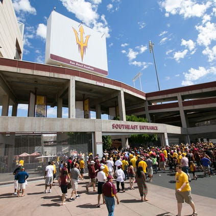 A new collaborative era between Arizona State athletics and students at the nation's largest public university begins, at least symbolically, with the football season opener tonight.