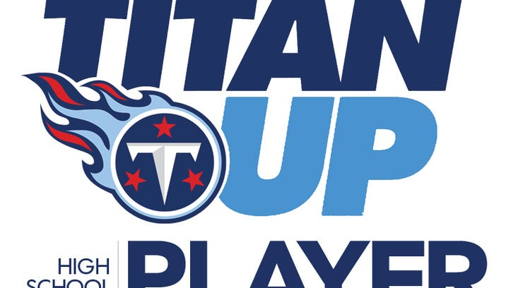 Titan Up Player of the Week, readers' choice award.