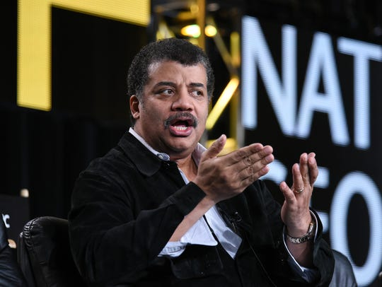 Neil deGrasse Tyson spoke to an audience at Comerica Theater in Phoenix this week.
