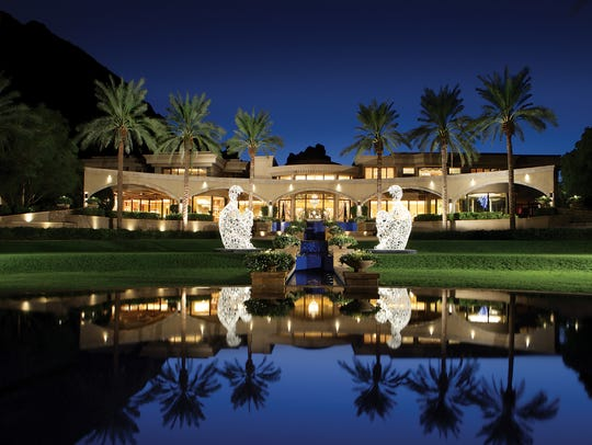 Arizona's priciest home, Villa Paradiso, has an indoor