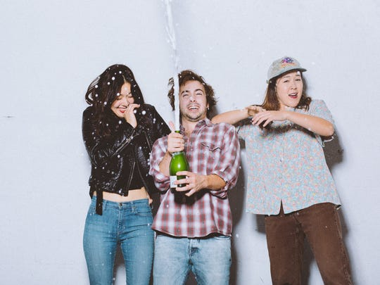 Garage-pop surf-rock trio Tangerine is lead by sisters Marika and Miro Justad and Toby Kuhn.