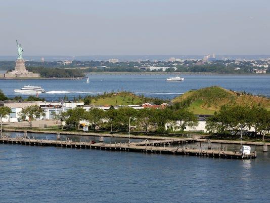 AP New York City Island Governors Hills