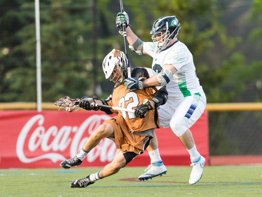 Third-year pro Jordan Wolf, left, leads the Rattlers