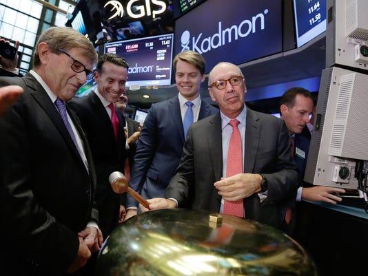 AP FINANCIAL MARKETS WALL STREET KADMON IPO F A USA NY