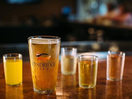 Wyndridge offers many unique selections in hard cider offerings.
