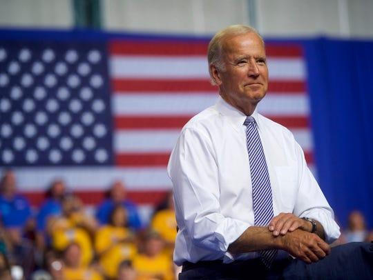 Vice President Joe Biden is scheduled to appear in