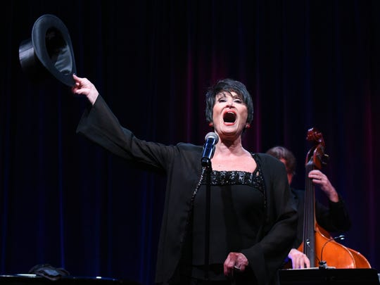 """Chita Rivera performs in 2015's the """"A Lot of Livin' to Do"""" segment of the PBS Summer TCA Tour held at the Beverly Hilton Hotel in Beverly Hills, Calif."""