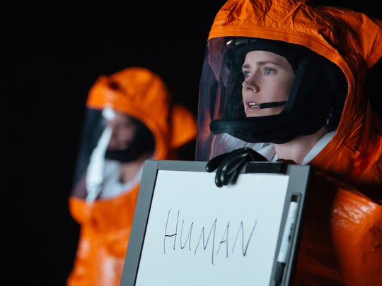 """Amy Adams stars as linguistics expert Louise Banks in """"Arrival."""""""
