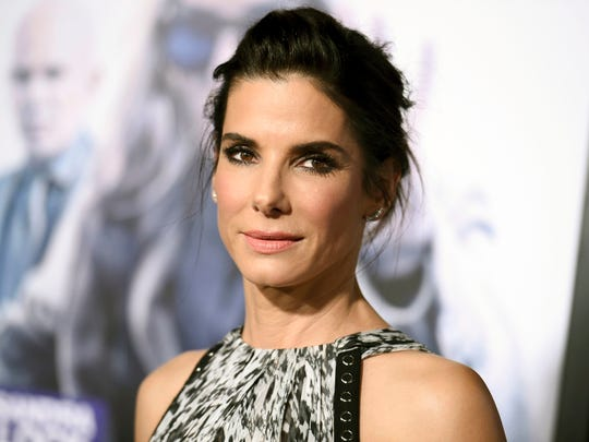 Sandra Bullock in Los Angeles in October 2015.