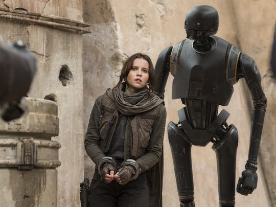 'Rogue One' is available on DVD/Blu-ray on Tuesday.