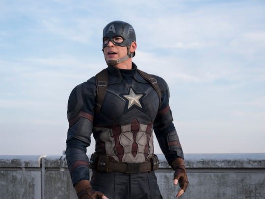 Captain America (Chris Evans) made new friends and