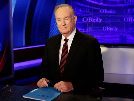 AP TV-FOX-O'REILLY A ENT FILE USA NY
