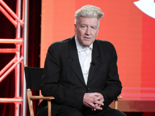 David Lynch attends the 'Twin Peaks' panel at the 2017