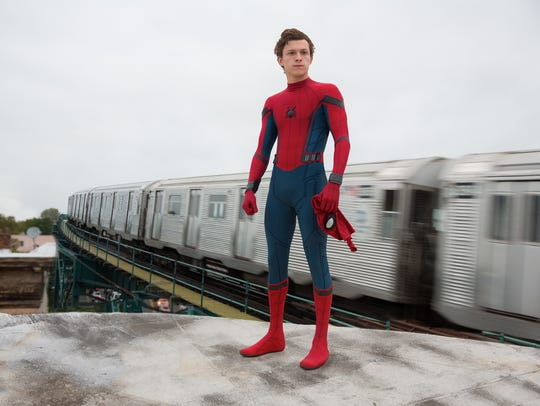 "Tom Holland's first solo film as Spider-Man was ""Homecoming."""
