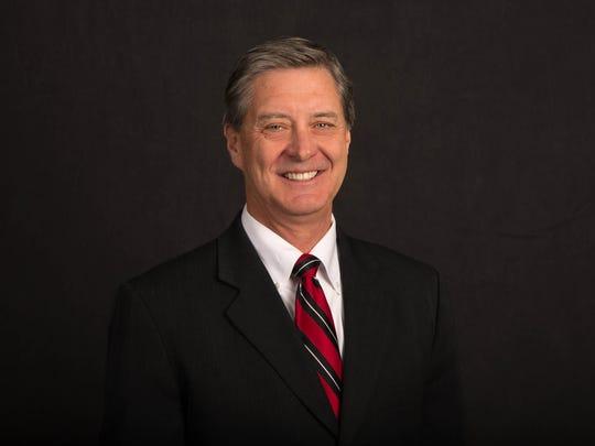 University of Utah athletics director Chris Hill