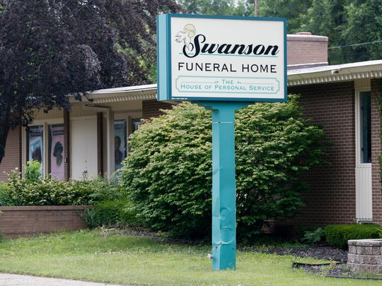 In a July 12, 2017 file photo, the Swanson Funeral