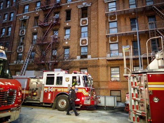 US-DESASTER-FIRE-NEW-YORK