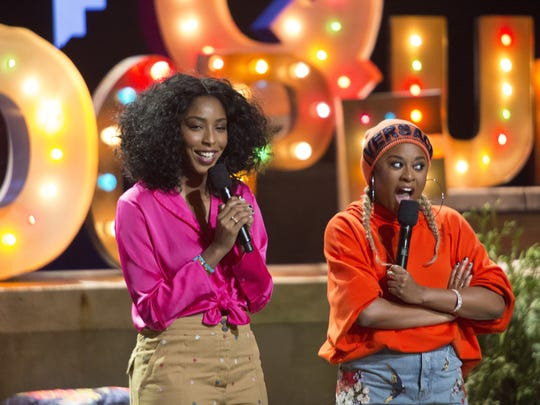 '2 Dope Queens' co-founders/hosts Jessica Williams, left, and Phoebe Robinson, are bringing their popular podcast to HBO.