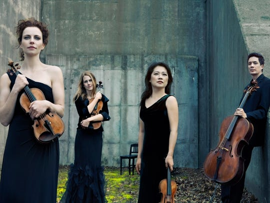 The New York-based Daedalus Quartet, along with Minnesota
