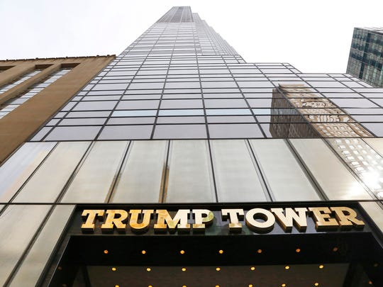Trump Tower in the Midtown Manhattan neighborhood of