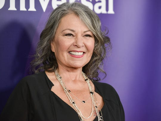 Roseanne Barr in Pasadena, Calif., in April 2014.