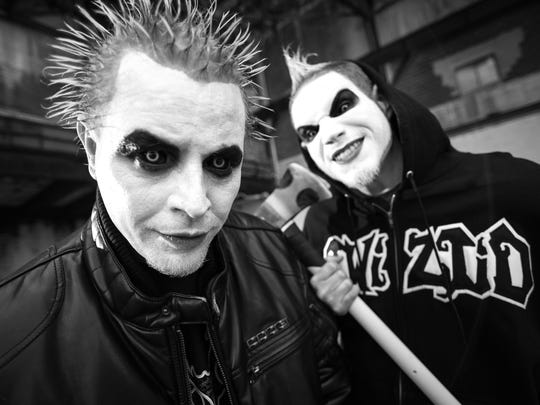 Fonted by Jamie Spaniolo and Paul Methric performing as Jamie Madrox and Monoxide. Twiztid is part of the line-up for the Vans Warped Tour that makes its final stop in Ventura Sunday.