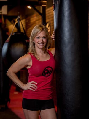 Heather Hudson, co-founder and COO of 9Round Fitness.