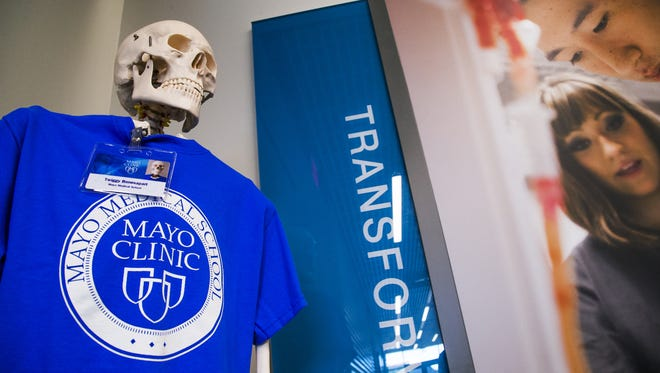 The new Mayo Clinic School of Medicine will open in July 2017. The school is in the process of interviewing for the first class of medical students that will number 50.