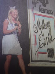 In July of 2009, Mallory Ervin won the title of Miss