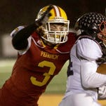 Sammy DeBiasi returns to play linebacker for Fenwick. He will also play play running back and tight end on offense.
