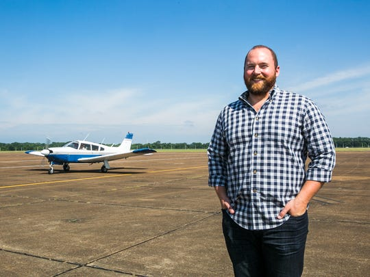 June 16, 2017 - Kyle Mullen is the director of operations at CTI Professional Flight Training in Millington. The learning facility, located near the Memphis-Millington Airport, is gearing up to train more pilots in coming years as airlines come to grips with a pilot shortage. CTI serves about 20 students from India as well as locally.