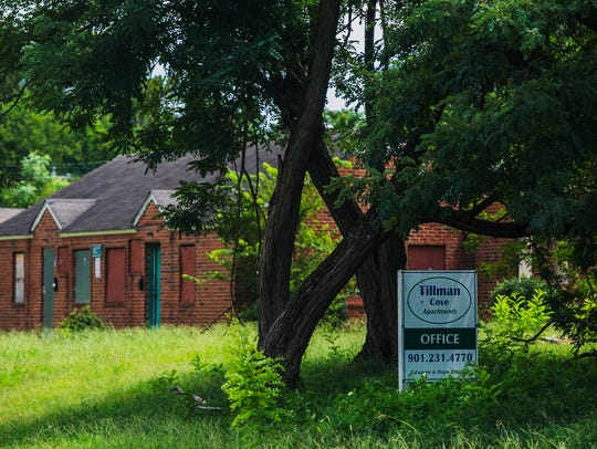 July 27, 2017 - The property at Tillman Cove Apartments,
