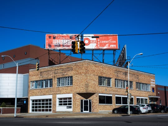March 6, 2018 - brg3s, located at 396 N. Cleveland, has a new office in Crosstown that includes big windows overlooking Cleveland at Overton Park and has a more urban feel than its old space in the South Main District.