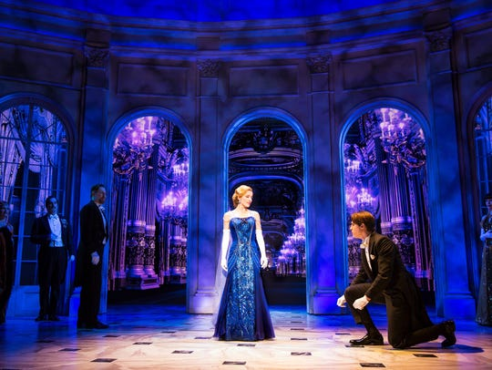 """Anastasia,"" March 19-24, 2019. From the Tony Award-winning"