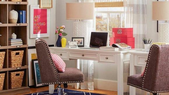 Wayfair has plenty of chic home office furniture.