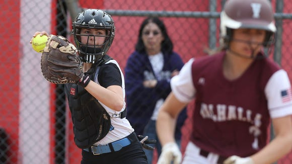 Valhalla defeated Rye Neck 11-0 to win the Section 1 Class B championship at North Rockland High School  May 27, 2017.