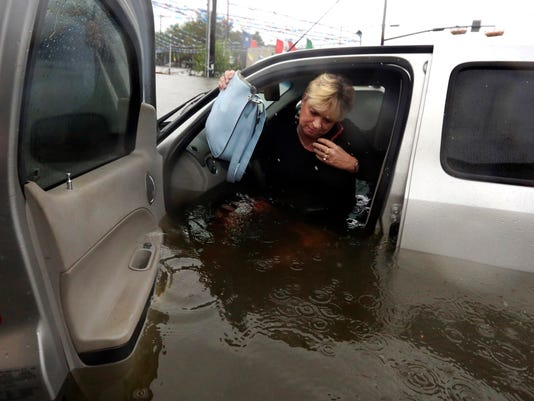 Hurricane Harvey car damage could be worst in U S  history