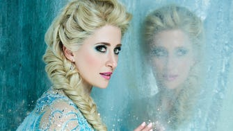 "Broadway veteran Caissie Levy sings the signature tune ""Let It Go"" as Elsa in ""Frozen."""