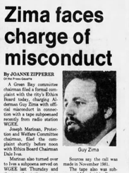 A headline in the Press-Gazette from April 12, 1982.